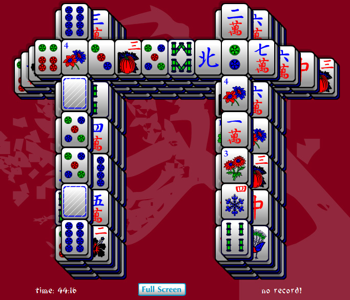 Click to view Gate Mahjong Solitaire 1.0 screenshot