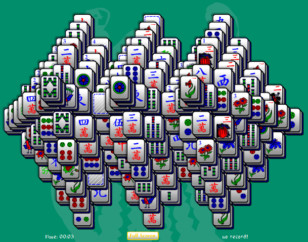 Click to view Triple Threat Mahjong Solitaire 1.0 screenshot